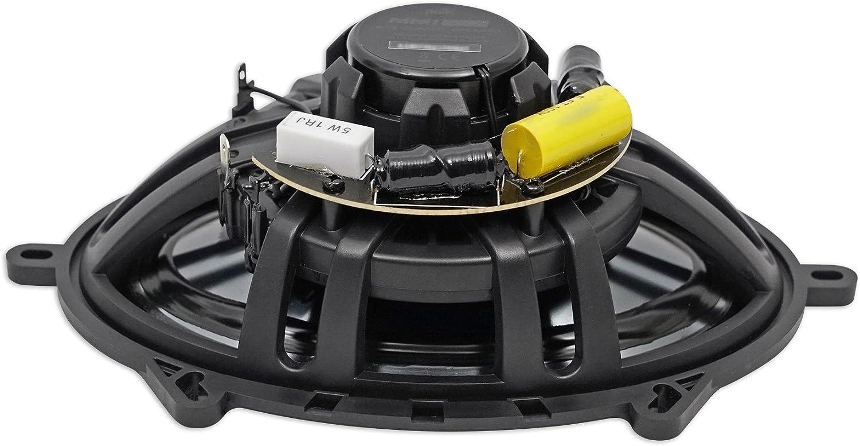 2 Polk Audio MM572 5x7 600w Car Audio//Marine Speakers+Rockmat+Free Speaker