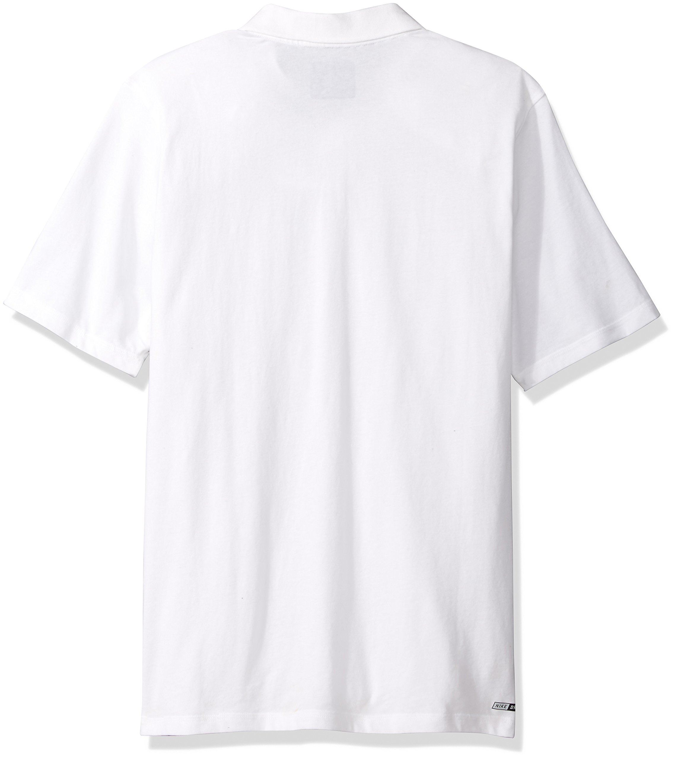 Hurley Men's Nike Dri-Fit Short Sleeve Lagos Polo, White, XL by Hurley (Image #2)