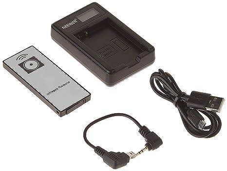 Neewer - Cargador de batería USB para Nikon Coolpix P7000, P7100, D3100, D3200, D3300, D5100 D5200 y D5300