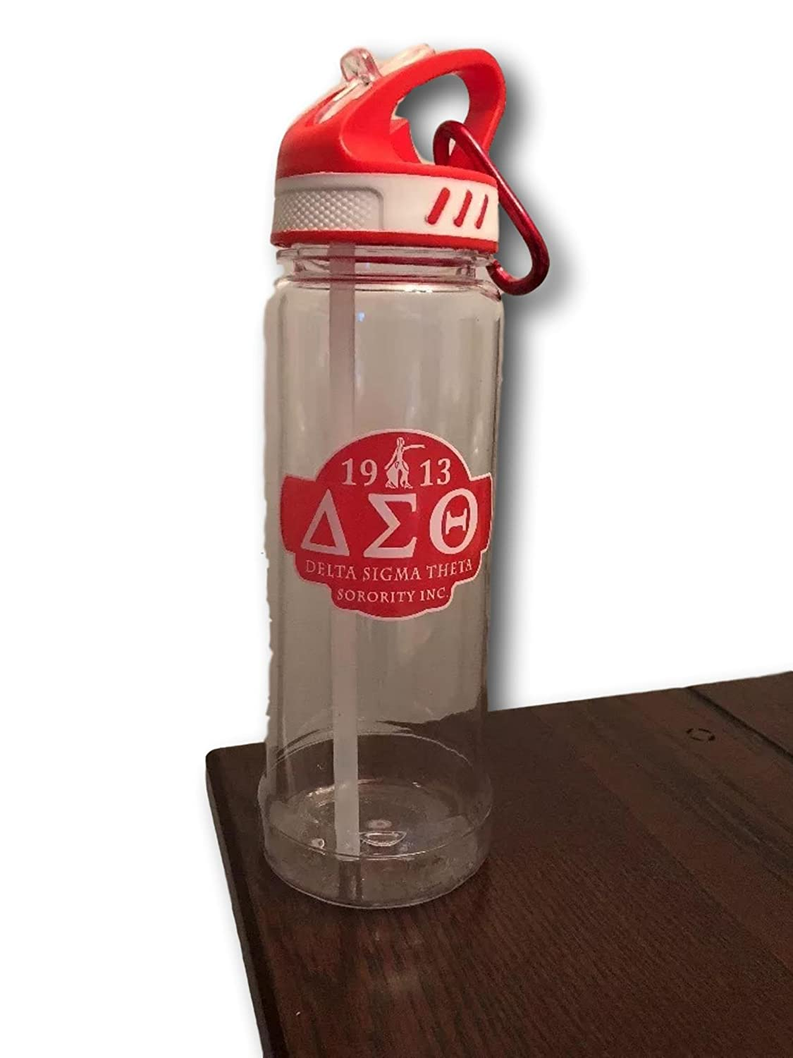 Amazon.com: Delta Sigma Theta - Botella de agua de 61 ml ...