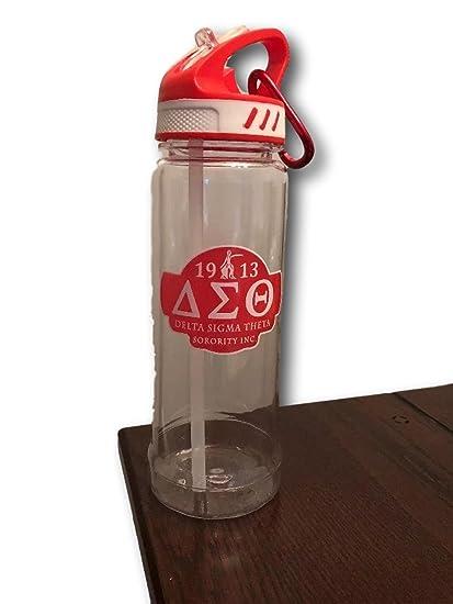 Amazon.com: Delta Sigma Theta - Botella de agua de 61 ml ...
