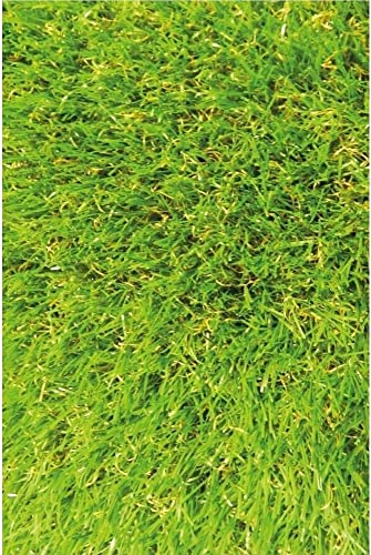 Sweethome Meadowland Collection Indoor and Outdoor Artificial Green Lawn Grass Turf Area Rug 3'11″ X 6'6 Green Artificial Grass/Pet mat