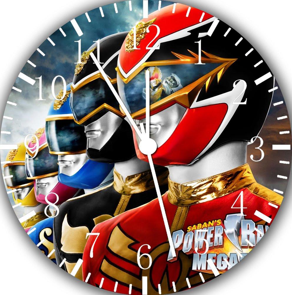 Power Rangers Frameless Borderless Wall Clock E18 Nice For Gift or Room Wall Decor