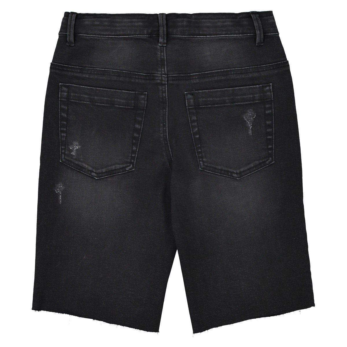 La Redoute Collections Big Boys Distressed Denim Bermuda Shorts 10-16 Years