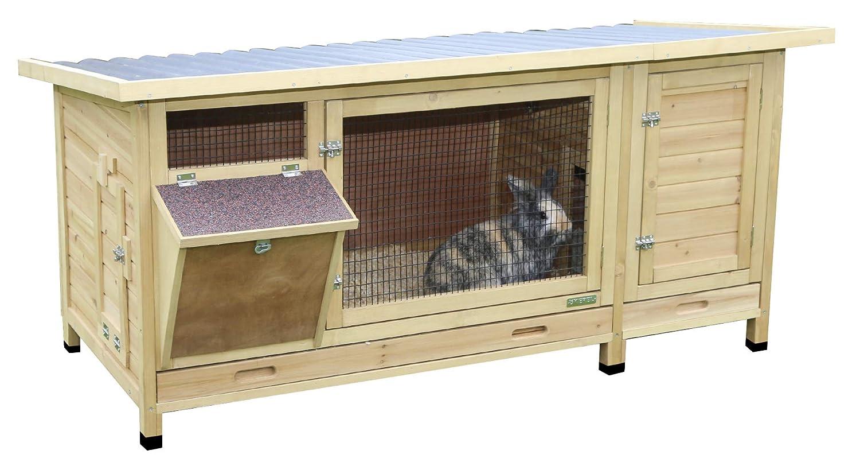 Kerbl Vario Rabbit Hutch, 2X-Large, 155 x 76 x 80 cm
