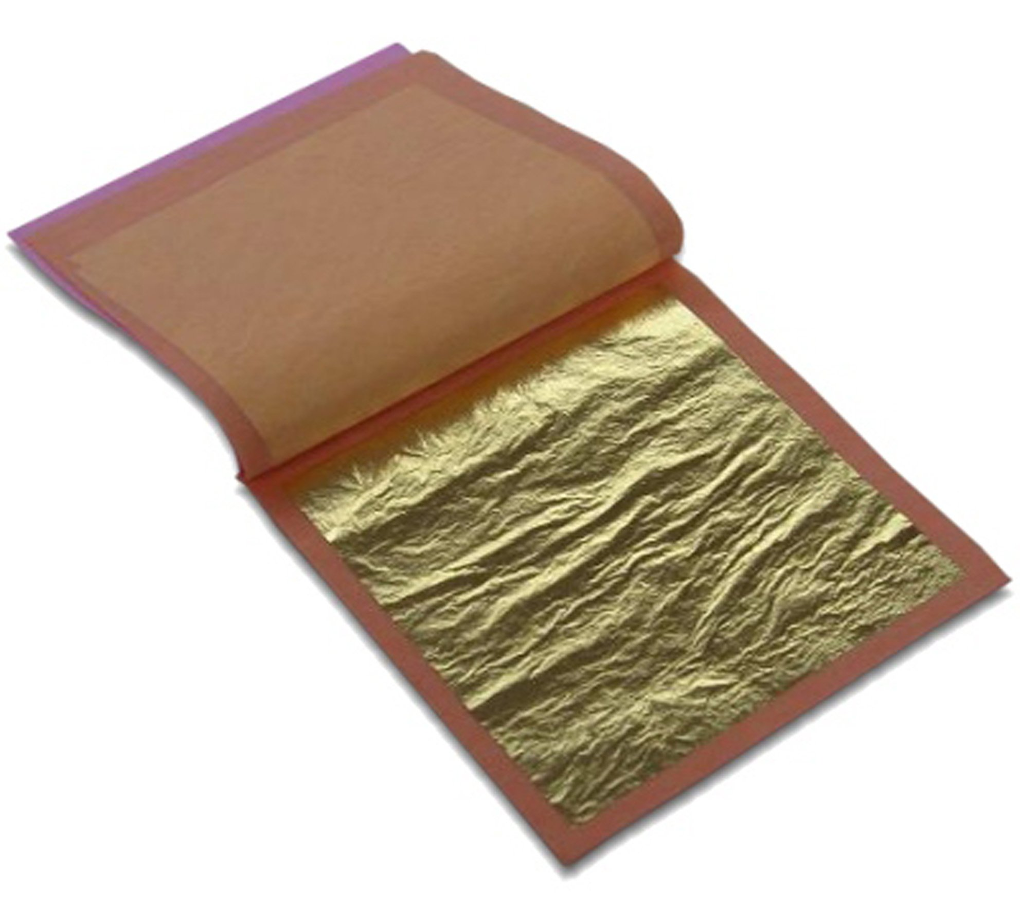 23k Edible Gold (4Booklets 100 sheets/Loose Type)