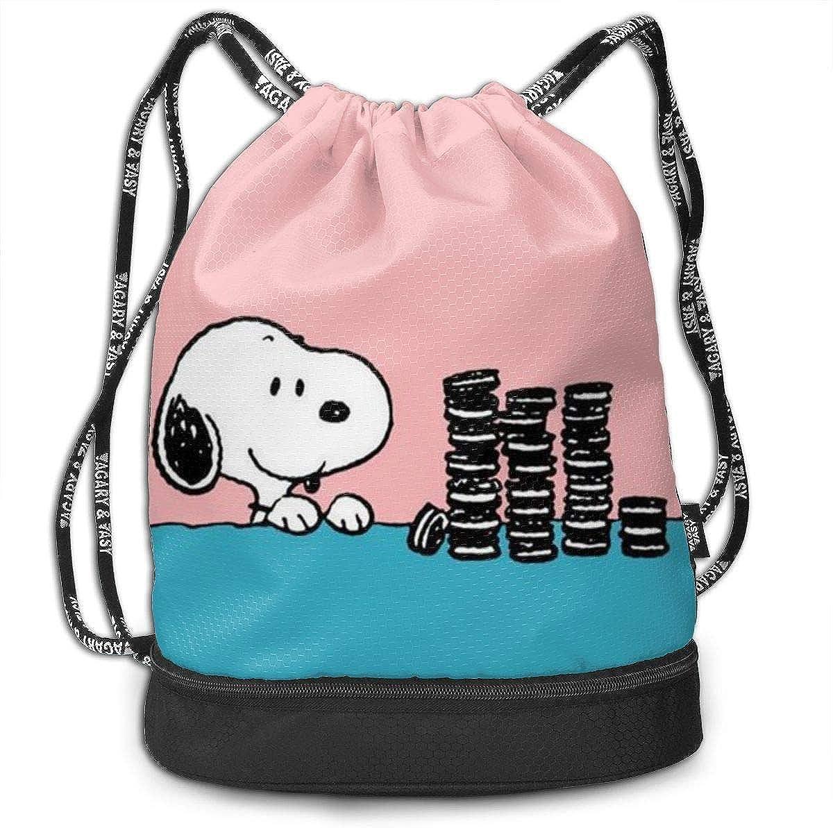 thegymyarraville.com.au Boweike Drawstring Bag Stylish Cute Snoopy ...