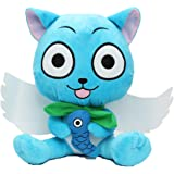 Fairy Tail Happy Cat Plush 12 Toy #B by Fairy Tail