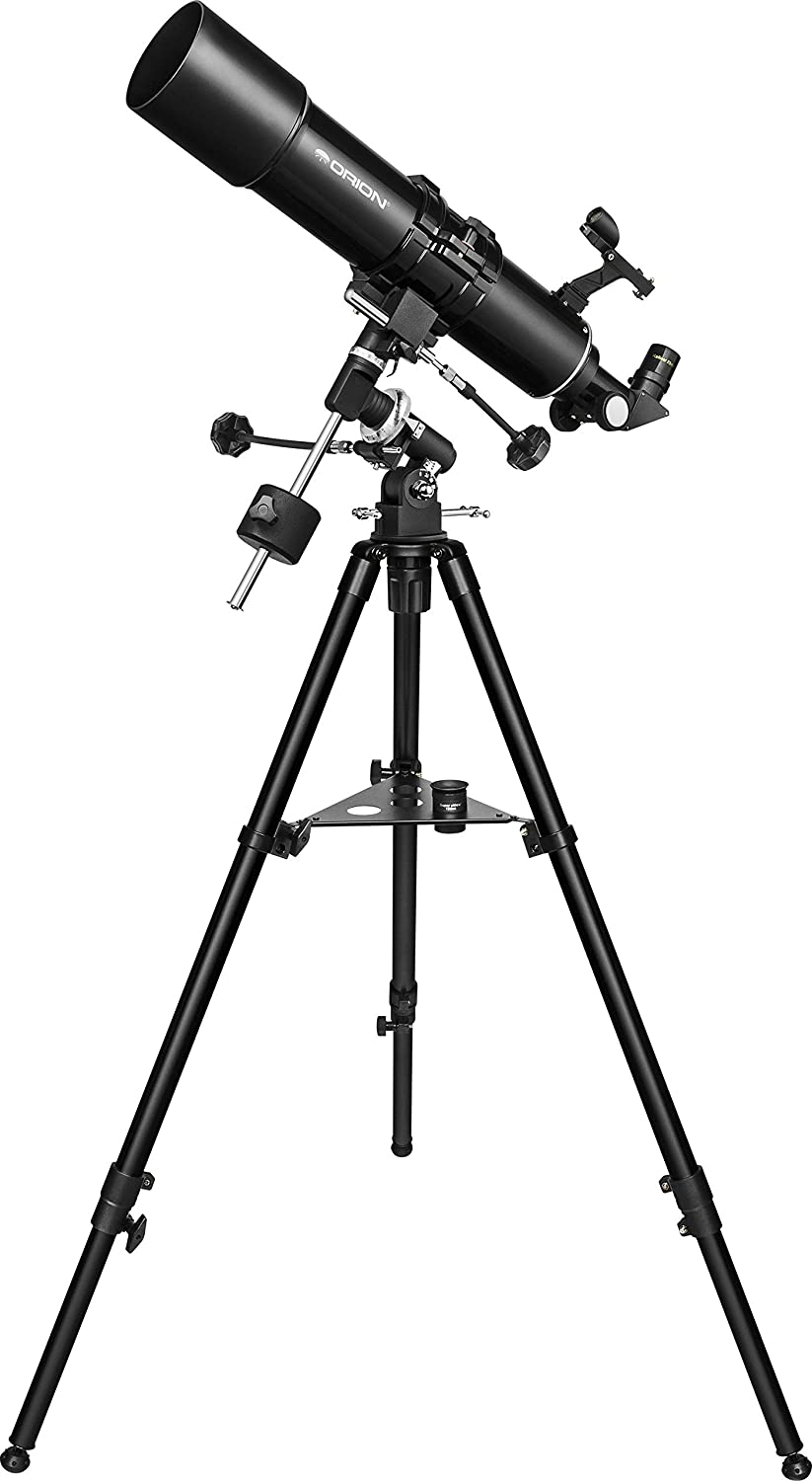 Color Negro Telescopio con tr/ípode Orion 52588 BX90