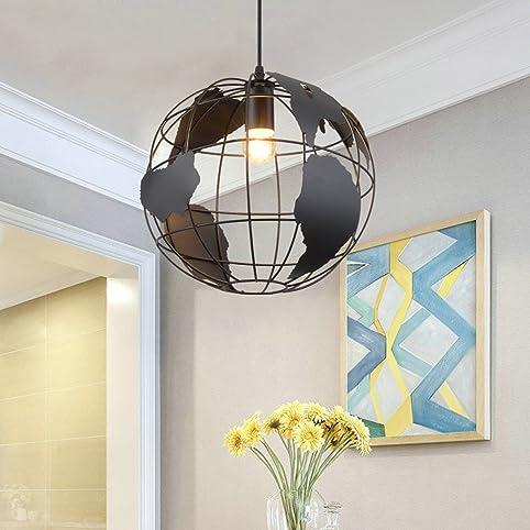 Moderne Zeitgenössische Schicke Art, Eisen Kugel Form Lampe E27  Deckenleuchte Kronleuchter