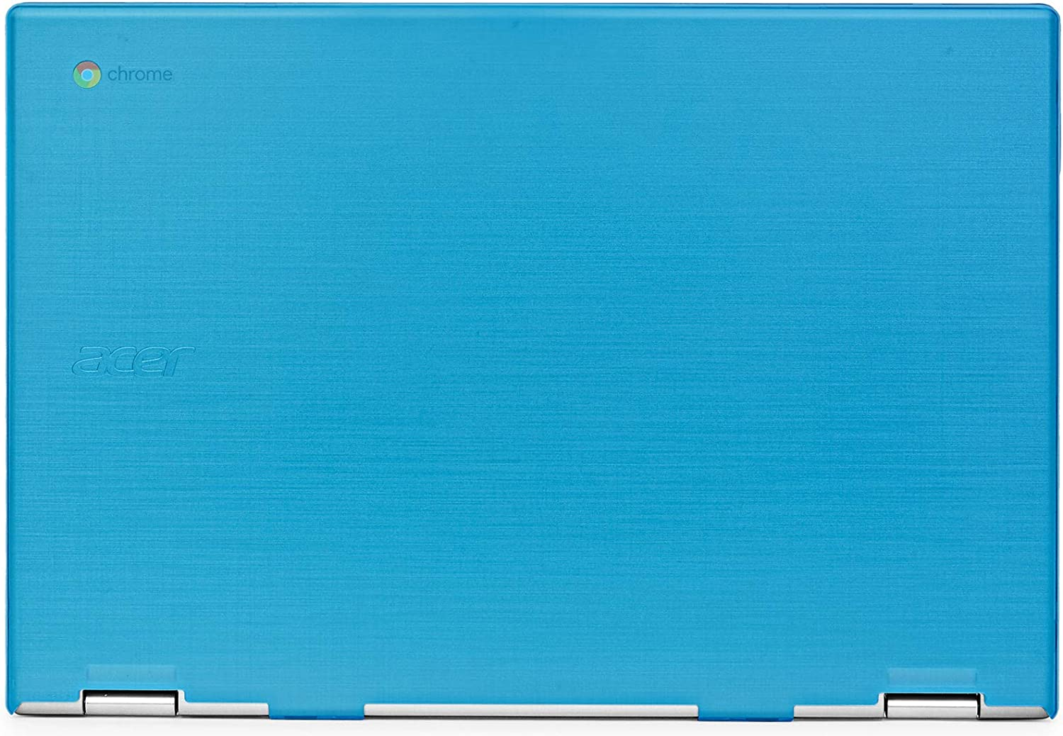 """mCover Hard Shell Case for 2019 15.6"""" Acer Chromebook 15 CB315 Series (NOT Compatible with Older Acer chromebook C910 / CB5-971 / CB3-531 / CB515, etc) Laptop Computer (AC15-CB315-Aqua"""
