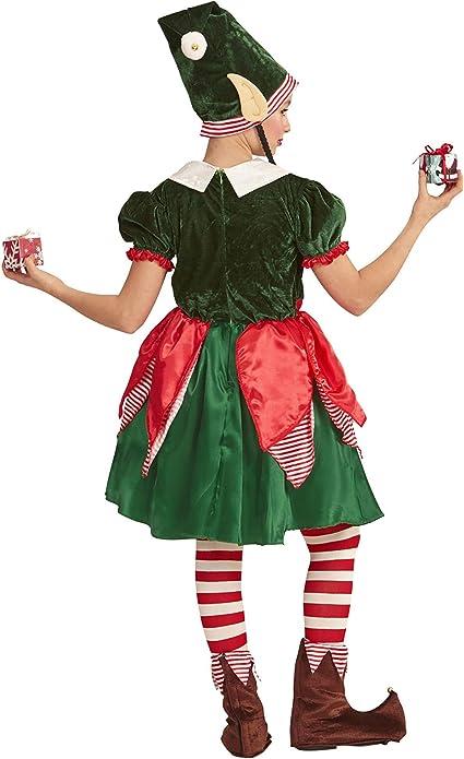 Bambino Piccolo Aiutante di Babbo Natale Costume Natale Travestimenti Vestito Età 3 NUOVO