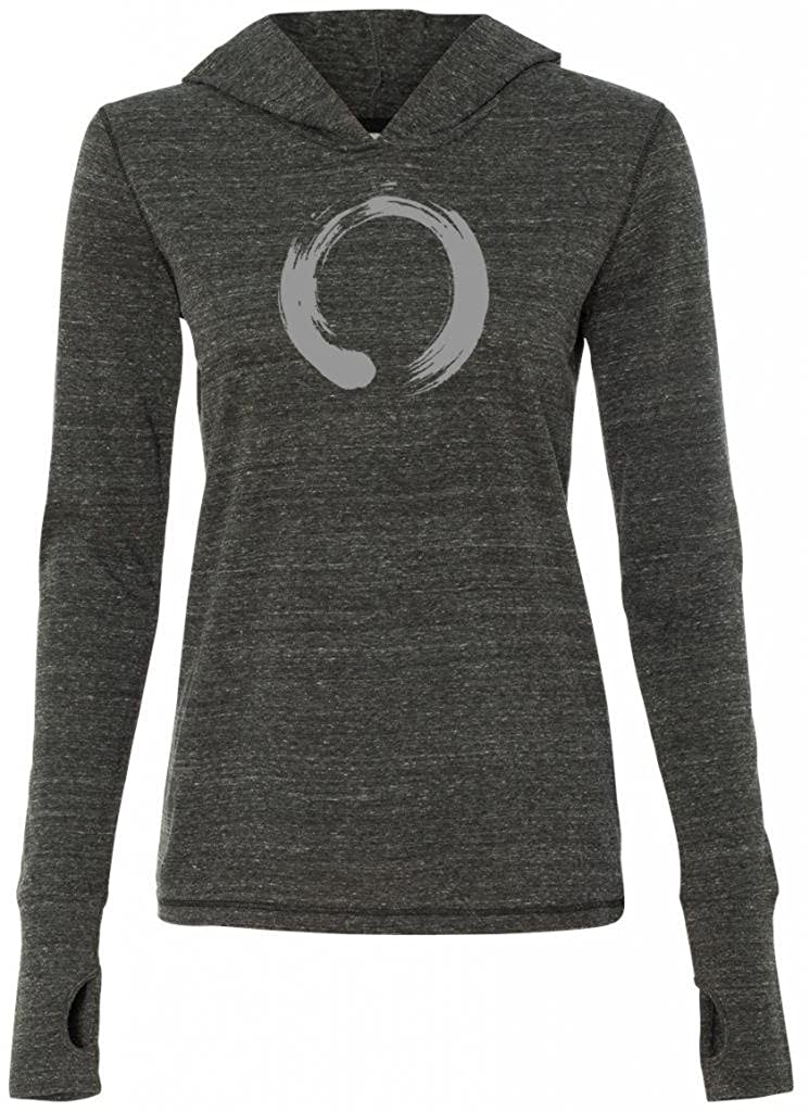 Yoga Clothing For You Ladies Japanese Symbol Tri-Blend Hoodie