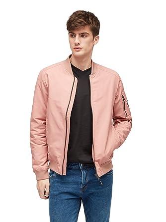 Tom Tailor Denim Herren Bomberjacke rosa S  Amazon.de  Bekleidung 3038887bee