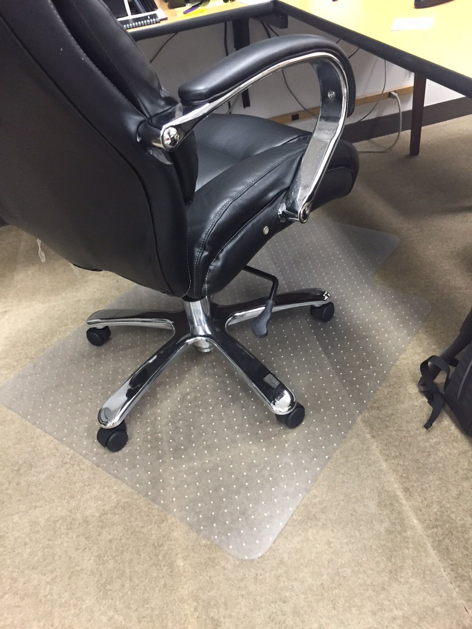 Desk Chair Mat - 3 Feet X 4 Feet (with Grippers) by Resilia