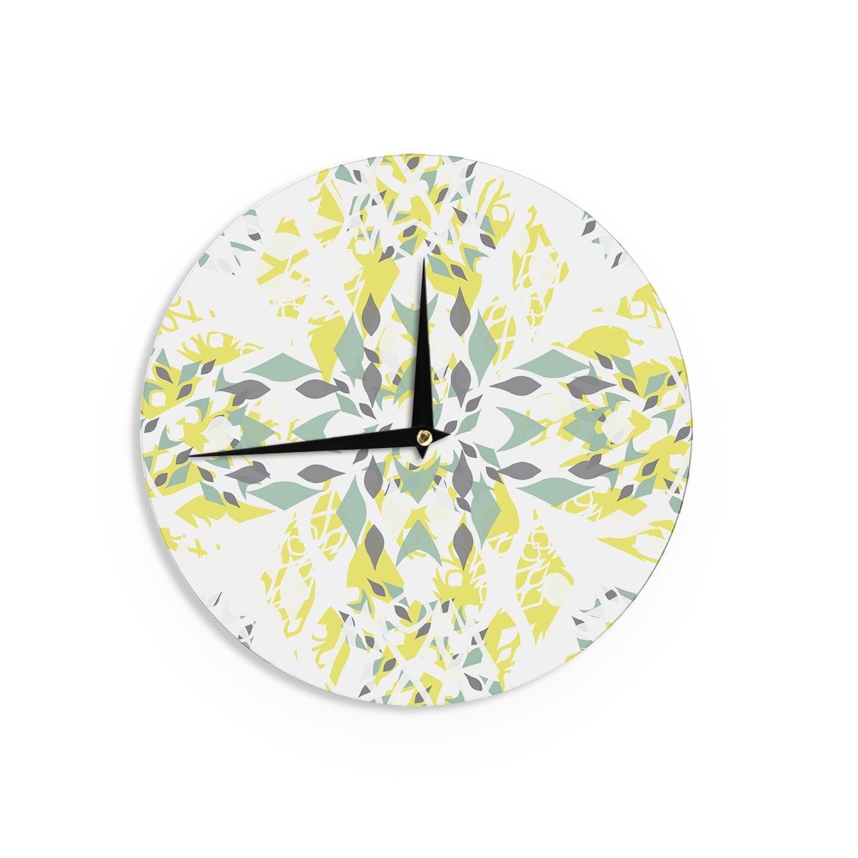 Kess InHouse Miranda MOL Springtide Wall Clock, 12-Inch