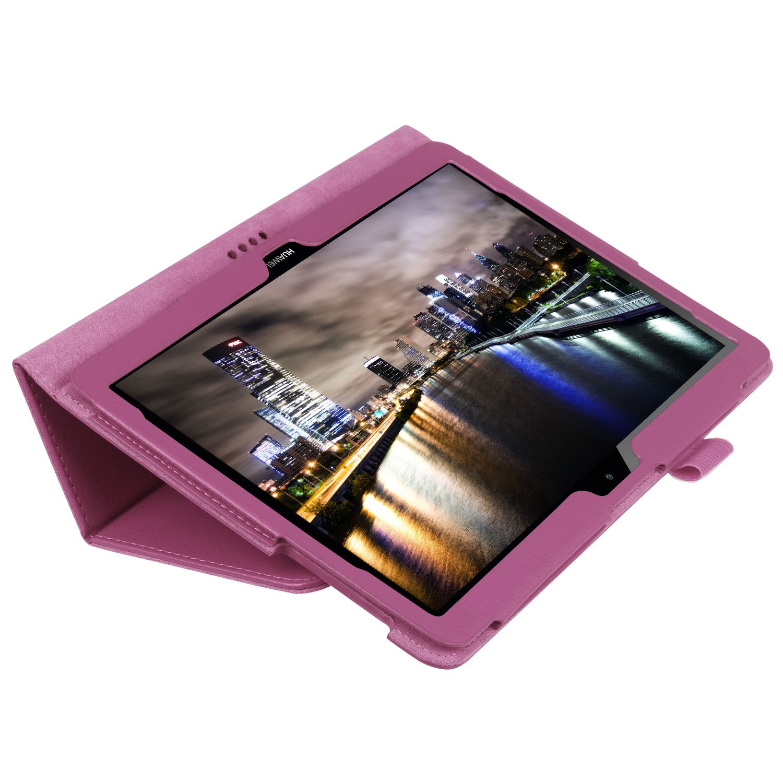 WiTa-Store Carcasa para Huawei T3/10/Stand Case 9.6/Pulgadas aufstellbar Piel sint/ética Gratis Stylus Touch Pen Verde Verde