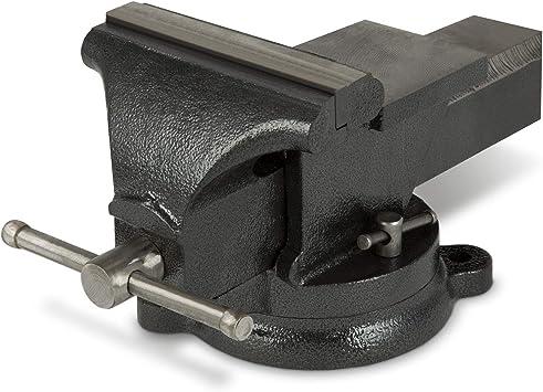EBERTH 150 mm Tornillo de banco con Yunque (150 mm Ancho de la ...