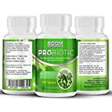Probiotics Tablets 10 Billion CFUS 120 Capsules | #1 Rated Probiotic Enzyme Supplement | Powerful Probiotics For Men And Women | 120 Probiotics Pills | 4 Month Supply | Friendly Bacteria - Aids In Creating Healthy Digestive System | Safe And Effective | Best Selling Probiotics | Manufactured In The UK!