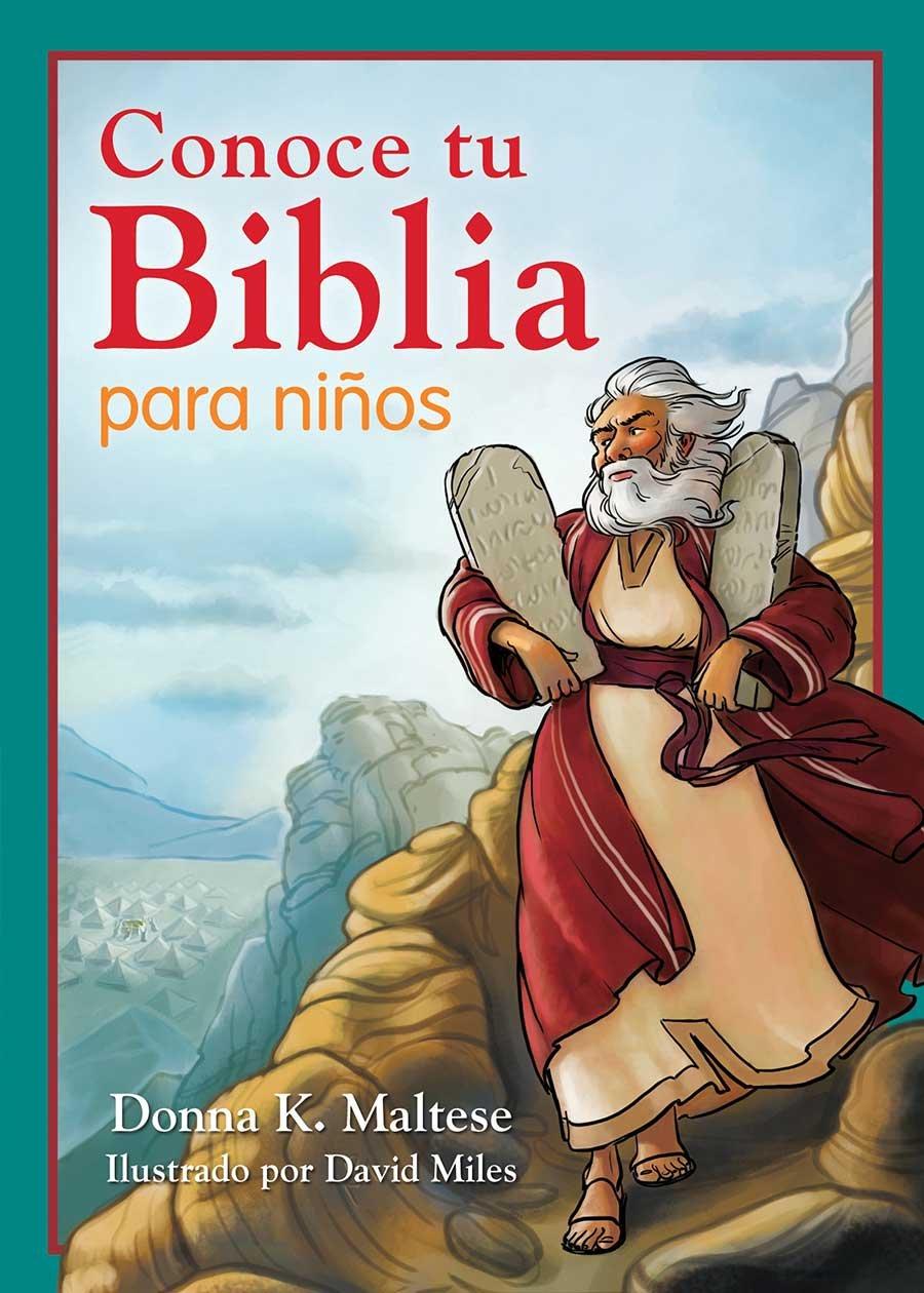 Download Conoce tu Biblia para niños: Mi primera referencia bíblica para niños de 5 a 8 años de edad (Spanish Edition) pdf