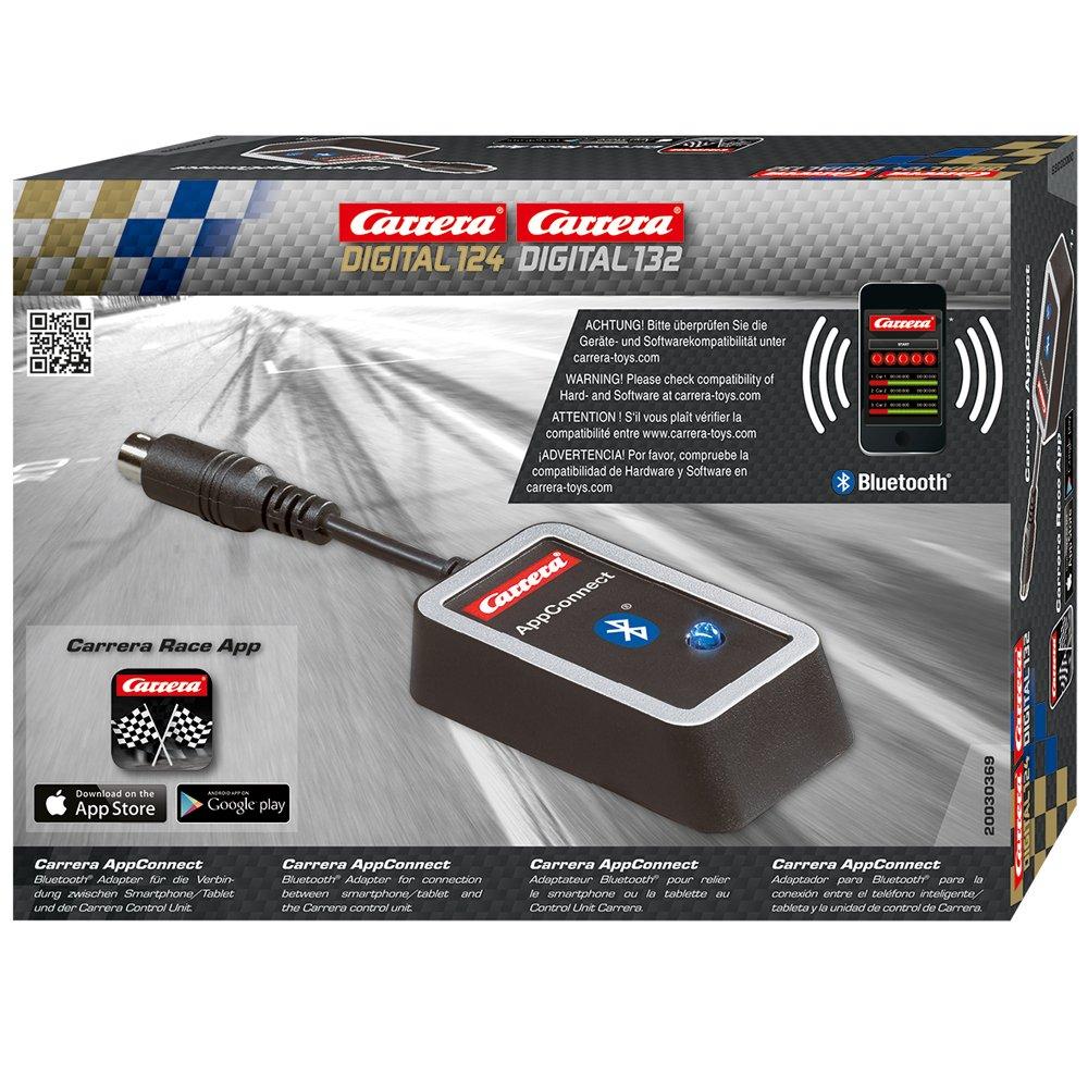 Carrera 20030369 - Adattatore blutooth AppConnect per pieste digitali 124 132