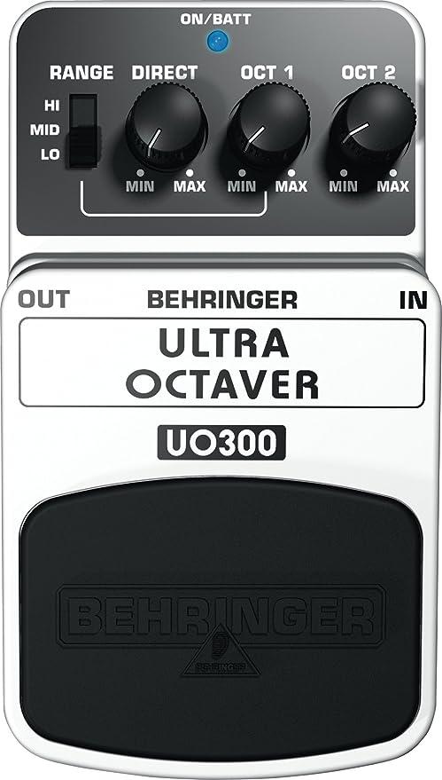 Behringer Ultra Octaver UO300 Pedal de Efectos: Amazon.es ...
