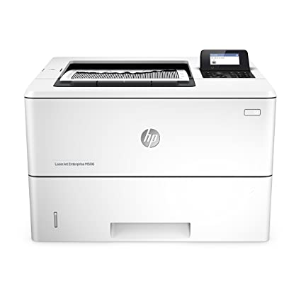 Hewlett Packard LJ Enterprise M506DN - Impresora láser monocromo, color blanco