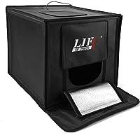 LED Lichtwürfel Mini Fotostudio Life of Photo LFV-660 60x60x60cm Leistung 65W Produktfotografie für ebay/Amazon Verkäufer