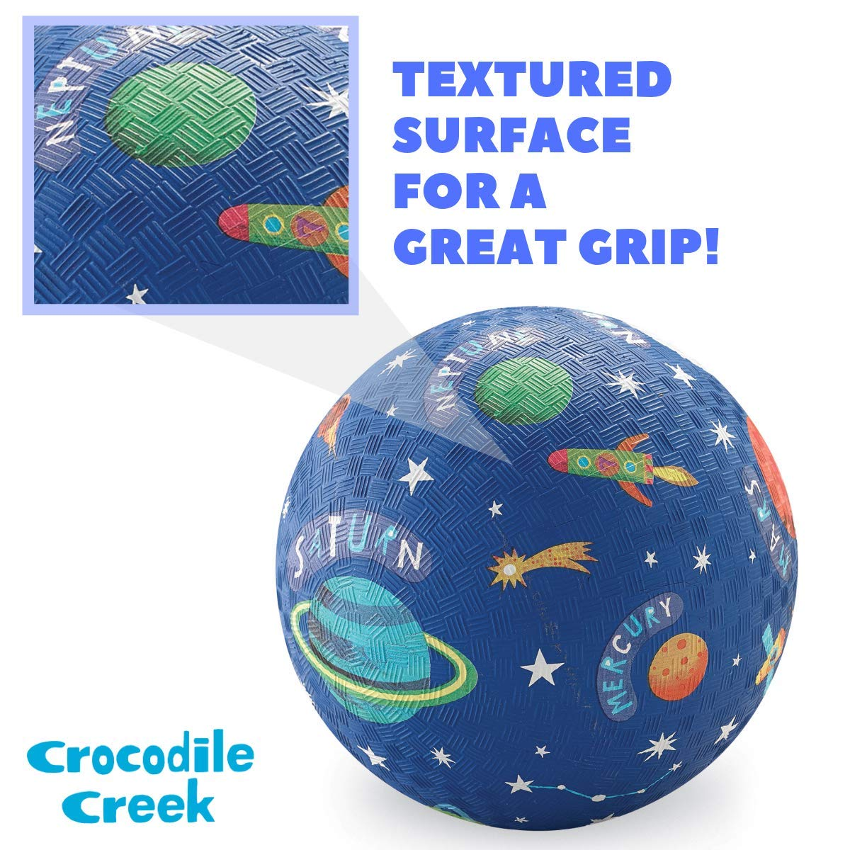 Crocodile Creek - Sistema Solar Playground Ball, Azul, 7 ...