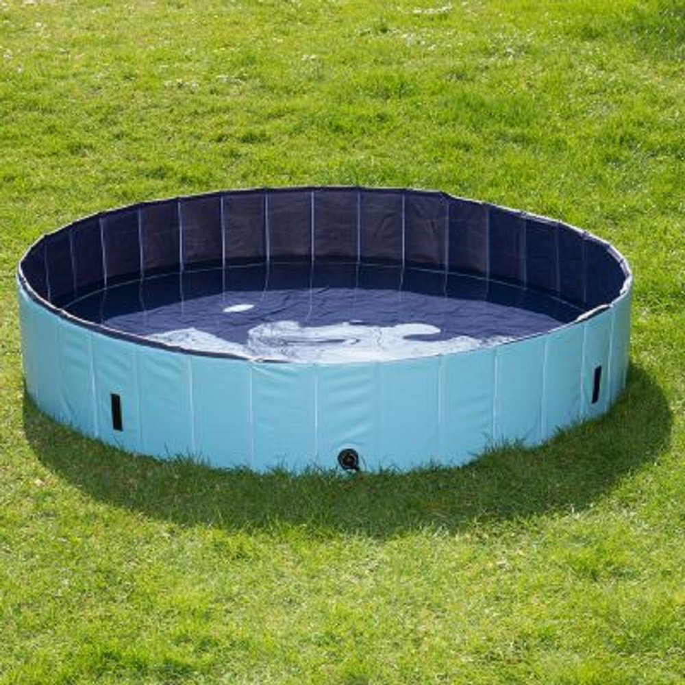 Piscina hinchable plástico perro exterior garden Incluye Funda ...