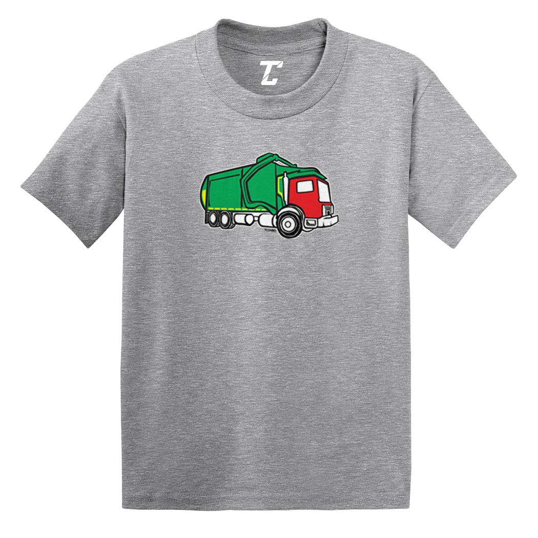 Garbage Truck Trash Messy Dirty Infant//Toddler Cotton Jersey T-Shirt
