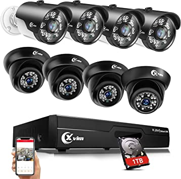 HDMI 8CH 720P CCTV IR Outdoor Security Camera DVR Night Vision Home System HD BE