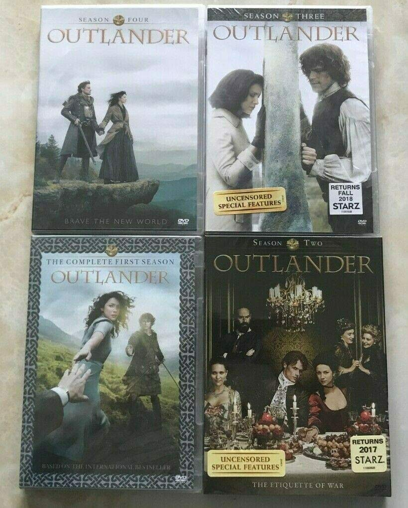Outlander: The Complete Series Season 1-4 ( DVD, 2019, 17-Disc Box Set )