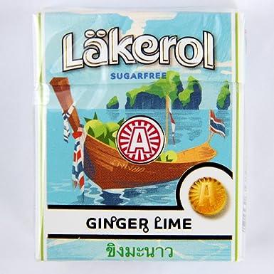 läkerol ginger lime