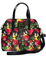 Belle Beauty and the Beast Disney Floral Crossbody Purse