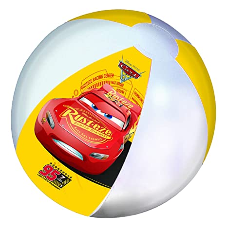 GIM – Balón de Playa Hinchable – Cars 3, 871 – 93130, 45 cm ...