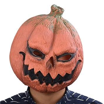Party Story Calabaza Máscara de Animal de Látex Novedad Disfraz de Halloween Máscaras