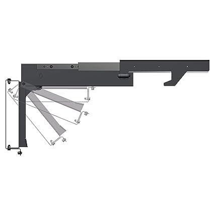 d64f596fbd558 Amazon.com  MORryde TV40-010H Slide-Out and Flip Down TV Ceiling Mount   Automotive