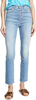 product image for MOTHER Women's The Pixie Dazzler Ankle Fray Jeans