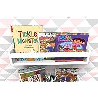 Prateleira Para Livros Infantil Quarto Bebe Montessori 60cm