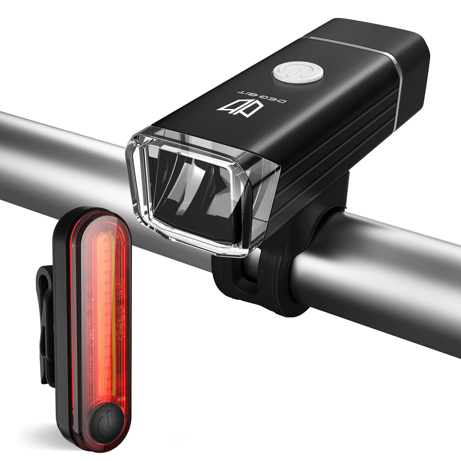 Bike Lights, Degbit USB Rechargeable Bike Light Set, Mountain Bike ...