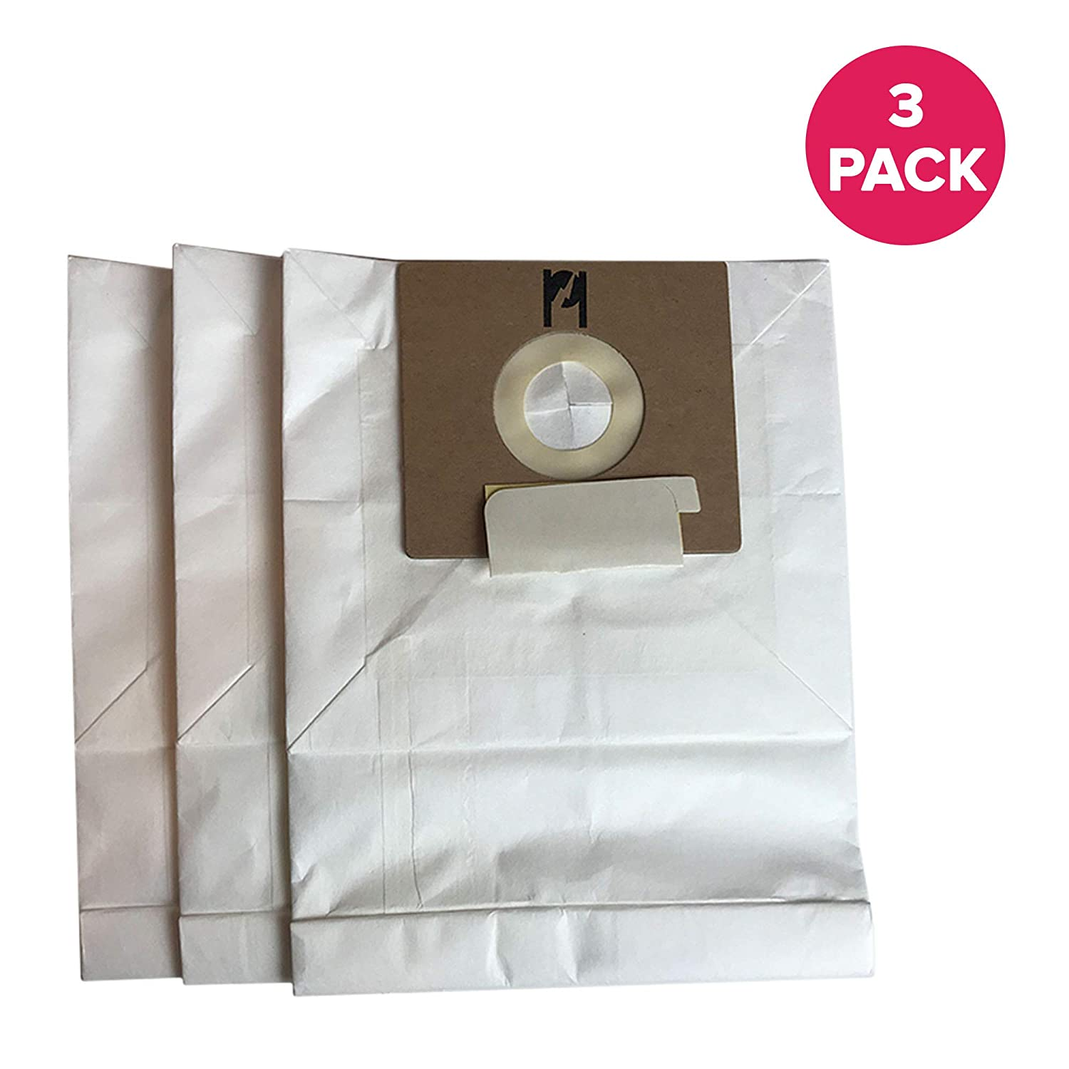 Crucial Vacuum Replacement Type B Cloth Vac Bags Part # 85003, 24196, 634875 115.2496210 - Compatible With Kenmore Bag and Oreck Canister Vacuums - Compact, Disposable Style For Vacuums (3 Pack)