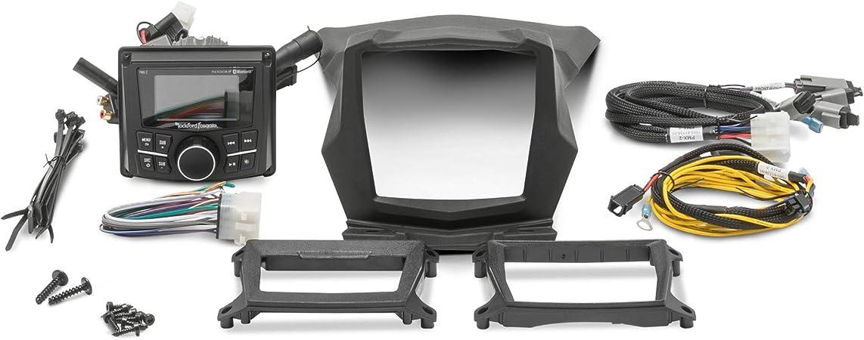 Rockford Fosgate RFX3-K4 4 AWG Amp kit 17-19 CanAm Maverick X3
