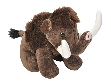 Amazon Com Wild Republic Woolly Mammoth Plush Stuffed Animal