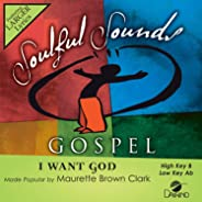 I Want God [Accompaniment/Performance Track]