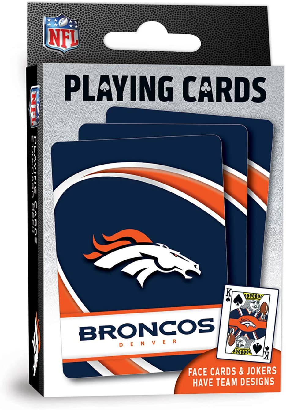 MasterPieces NFL Denver Broncos Playing Cards