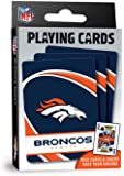 """MasterPieces NFL Denver Broncos Playing Cards, 2.5"""" x 3.5"""""""