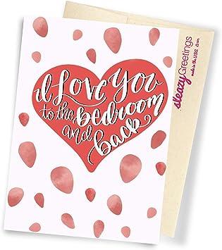 Funny ANNIVERSARY VALENTINE BIRTHDAY CARD Rude wife husband boy girlfriend adult