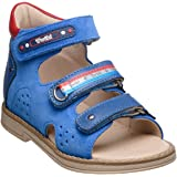 Orthopedic Kids Shoes for Boys and Girls - Twiki - Genuine Leather Sandals with Arch Support, Non-Slip Amortizing Sole and Thomas Heel