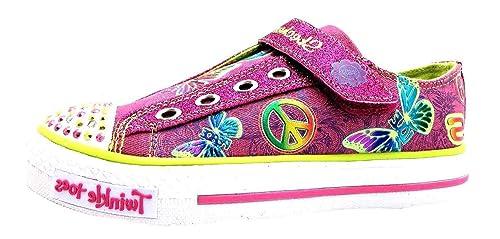 Skechers Shuffles - Chaleco Para Niña, Color Rosa, Talla 30 EU: Amazon.es: Zapatos y complementos